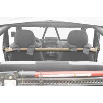 Jeep TJ, 1997-2006, Harness Bar Kit. Military Beige.  Made in the USA.