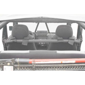 Jeep TJ, 1997-2006, Harness Bar Kit. Gray Hammertone.  Made in the USA.
