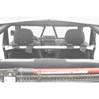 Jeep TJ, 1997-2006, Harness Bar Kit. Cloud White.  Made in the USA.