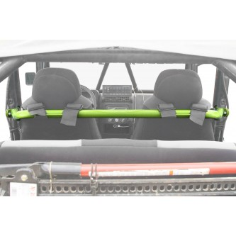 Jeep TJ, 1997-2006, Harness Bar Kit. Gecko Green.  Made in the USA.