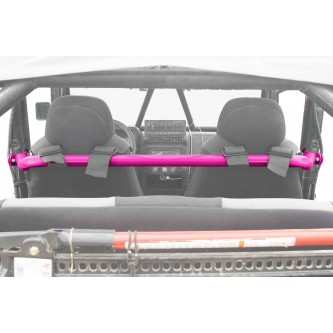Jeep TJ, 1997-2006, Harness Bar Kit. Hot Pink.  Made in the USA.