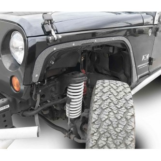 Fits Jeep JK 2007-2018, Front Fender Deletes.  Gray Hammertone.  Kit includes two front fender deletes.  Made in the USA.