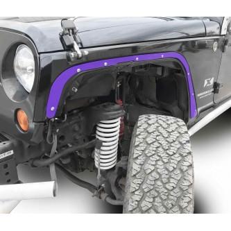 Fits Jeep JK 2007-2018, Front Fender Deletes.  Sinbad Purple.  Kit includes two front fender deletes.  Made in the USA.