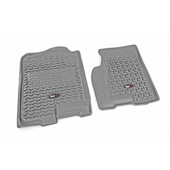 84901.03 Rugged Ridge Front Gray All Terrain Floor Liner Pair For 07-12 GM Arcadia/Traverse/Enclave