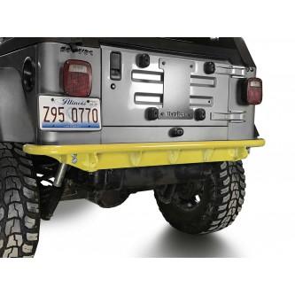 Fits Jeep Wrangler TJ 1997-2006.  Rear Bumper.  Lemon Peel.  Made in the USA.