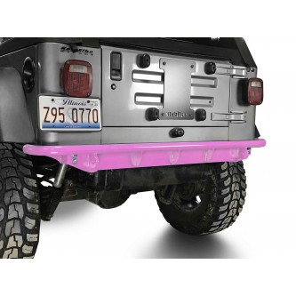 Fits Jeep Wrangler TJ 1997-2006.  Rear Bumper.  Pinky.  Made in the USA.