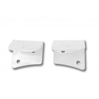 Fits Jeep JK 2007-2018, Universal Lower Windshield Light Mount, Cloud White.  Made in the USA. Lights not included. Made in the USA.