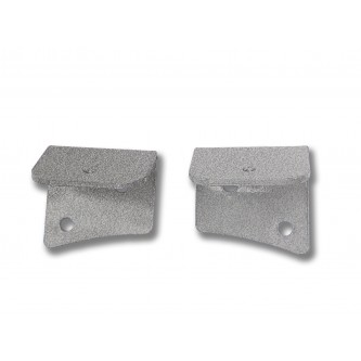Fits Jeep JK 2007-2018, Universal Lower Windshield Light Mount, Gray Hammertone.  Made in the USA. Lights not included. Made in the USA.