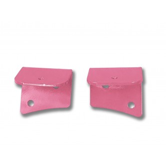 Fits Jeep JK 2007-2018, Universal Lower Windshield Light Mount, Pinky.  Made in the USA. Lights not included. Made in the USA.