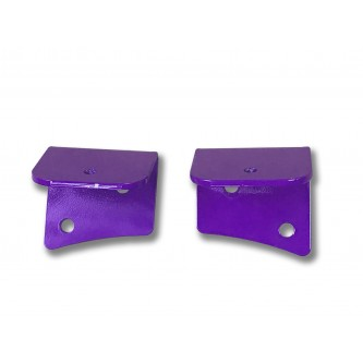 Fits Jeep JK 2007-2018, Universal Lower Windshield Light Mount, Sinbad Purple.  Made in the USA. Lights not included. Made in the USA.