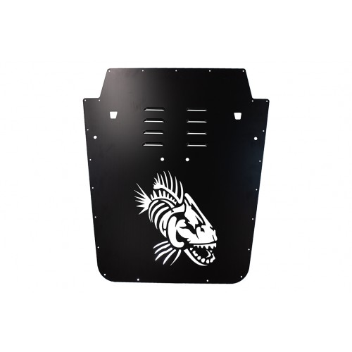 Fishbone JK Hood Louver (13-18)-Black
