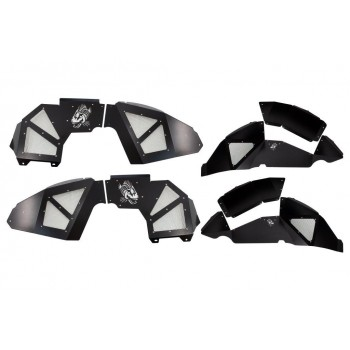 Fishbone JL Black Aluminum Inner Fenders