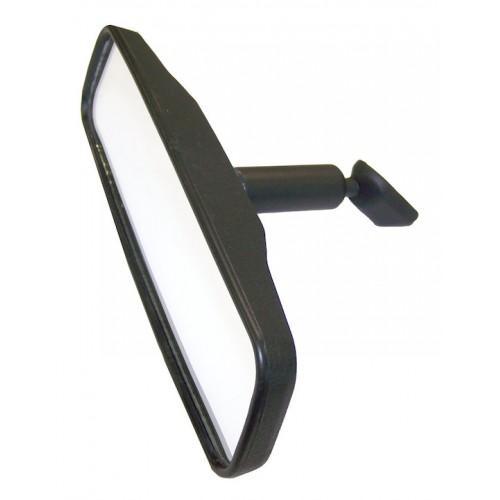 Crown Automotive J5965338 Rearview Mirror; 8.5 in. Wide; Black;