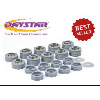 Daystar Kevlar Body Mounts, 99-16 Super Duty Body Mounts; Kevlar