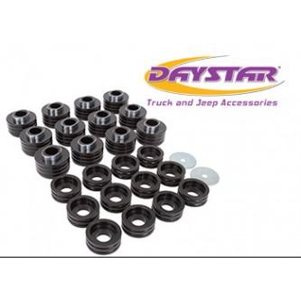 Daystar Polyurethane 99-05 Ford Excursion Body Mounts, 99-05 Ford Excursion Body Mounts; Black
