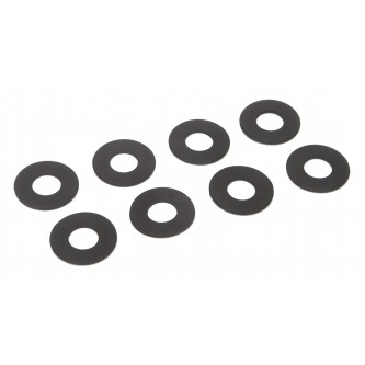 Daystar Winch & Recovery Accessories D-RING / SHACKLE WASHERS (SET OF 8); Black, D-RING / SHACKLE WASHERS (SET OF 8); Black