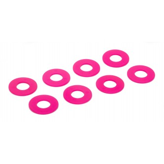 Daystar Winch & Recovery Accessories D-RING / SHACKLE WASHERS (SET OF 8); Fl. Pink, D-RING / SHACKLE WASHERS (SET OF 8); Fl. Pink
