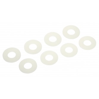Daystar Winch & Recovery Accessories D-RING / SHACKLE WASHERS (SET OF 8); Glow in the Dark, D-RING / SHACKLE WASHERS (SET OF 8); Glow in the Dark