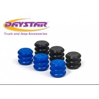 Daystar Bump Stops Stinger Bump Stop Rebuild Kit; Includes 3 black EVS Inserts and 3 Blue EVS Inserts, Stinger Rebuild Kit