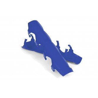 Daystar Shock Boots Universal Shock and Steering Stabilizer Armor; Pair; Blue; Includes Mounting Rings, Shock Armor; Blue