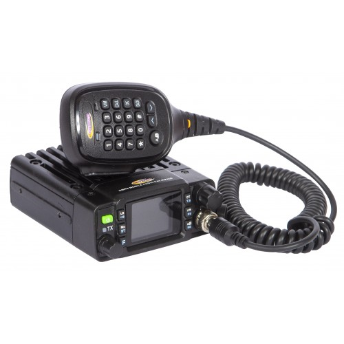 Daystar GMRS Radio Daystar 25 Watt Weather Resistant GMRS Two Way Radio with Dual Band Antenna, 25 Watt Two Way Radio with Antenna