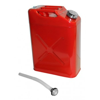 Jerry Can Gas Fuel Can  5 Gallon with Spout  RED  RT26010 for Jeep