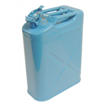 Jerry Can Water Can Storage  5 Gallon Blue  Crown RT26020
