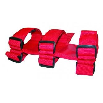 Fire Extinguisher Holder Red Jeep Wrangler YJ TJ JK Crown RT27005