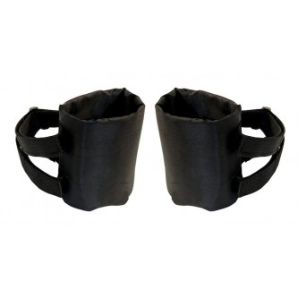 Roll Bar Drink Holder Pair Black Jeep Wrangler YJ TJ JK Crown RT27044