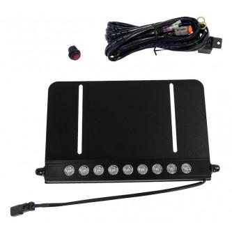 LED Light Bar & License Plate Bracket Kit