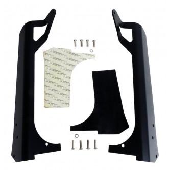 LED Light Bar Windshield Bracket Set
