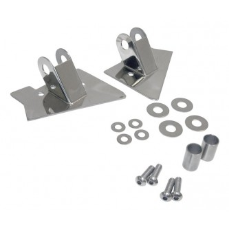 Mirror Relocation Brackets Stainless for  Jeep Wrangler TJ 1997-2002 RT30015