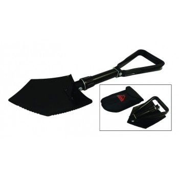 Tri-Fold Shovel Military Style Camping Off-Road Rough Trail RT33016
