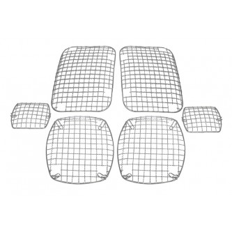 Stone Guard Set Stainless Jeep Wrangler YJ 1987-1995 Rough Trail RT34047