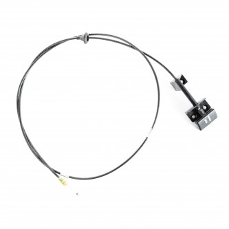 Hood Release Cable, Right Hand Drive; 94-96 Jeep Cherokee XJ