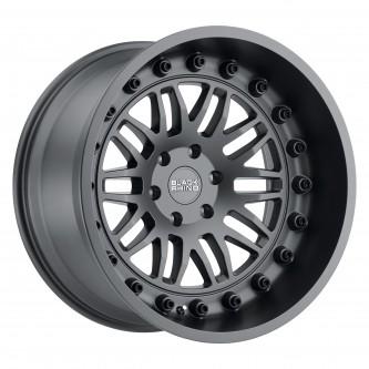 Black Rhino Fury 17x9.5 5/139.7 Et00 Cb78.1 Matte Gunmetal Wheel