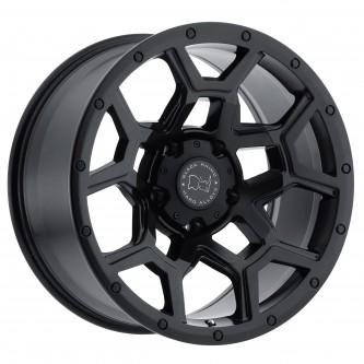 Black Rhino Overland 17x9.5 5/139.7 Et00 Cb78.1 Matte Black Wheel